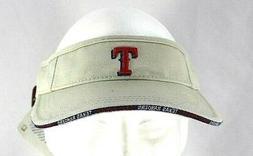 Texas Rangers Tan Visor Adjustable