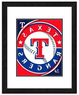 Photo File Texas Rangers Team Logo Framed Print Picture Artw