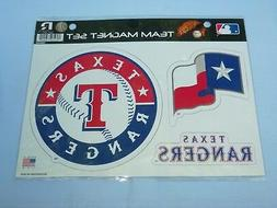 Texas Rangers  TEAM MAGNET SET   New in Package!  by Rico