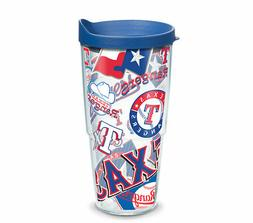 Texas Rangers Travel Tumbler 24 ounce