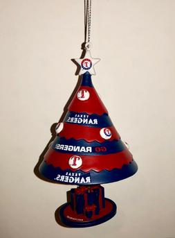 TEXAS RANGERS TREE BELL ORNAMENT BRAND NEW FREE SHIPPING