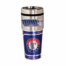 Texas Rangers Travel Tumbler 16 oz Stainless Steel mug MLB B