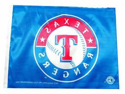 Texas Rangers - Two Sided Car Flags