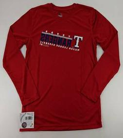 Texas Rangers Majestic Unisex Kids MLB Graphic T-Shirt Red L