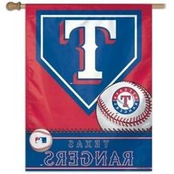 Texas Rangers Vertical Banner  MLB Flag Yard House Sign Outs