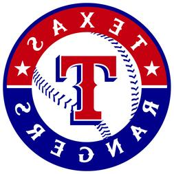 TEXAS RANGERS Vinyl Decal / Sticker ** 5 Sizes **