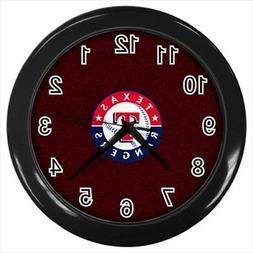 Texas Rangers Wall Clock  - MLB Baseball
