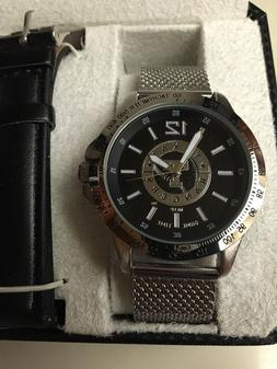 Texas Rangers Watch Men's NEW Game Time Cage Sport MLB 2 Ban