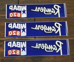 TEXAS RANGERS WBAP 820 BUMPER STICKERS
