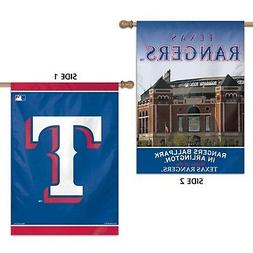 Texas Rangers WC Premium 2-sided 28x40 Banner Outdoor House