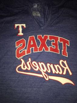 Texas Rangers Women's Shirt Mlb Baseball Size 2XL