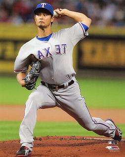 Texas Rangers YU DARVISH Glossy 8x10 Photo Baseball Print Po