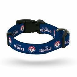 Texas TX Rangers MLB  Nylon Pet Dog Collar