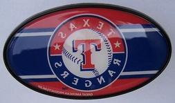 "Trailer Hitch Cover MLB Baseball Texas Rangers NEW 2"" recexi"