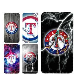 wallet case Texas Rangers galaxy S7 S8 S8plus S9 S9plus S10