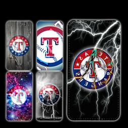 wallet case Texas Rangers iphone 7 iphone 6 6+ 5 7 X XR XS M