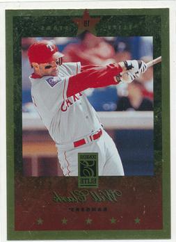 WILL CLARK 1997 Donruss Elite Gold Stars - Texas Rangers