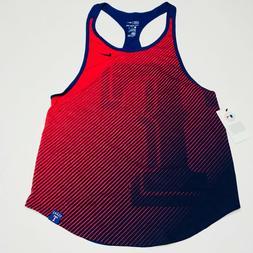 Nike Women's Texas Rangers Tank Top Shirt Jersey Dri Fit MLB